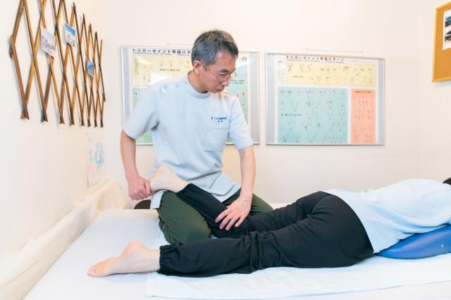 足、脚、臀部の筋肉の調整